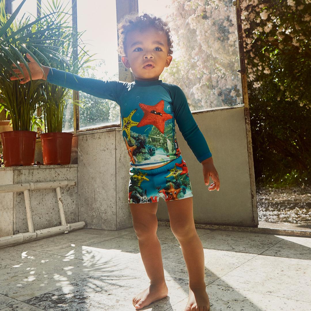 Одежда с защитой от ультрафиолета на babyshop