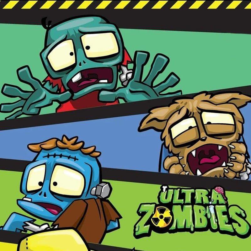 Товары для школы с персонажами Ultra Zombie