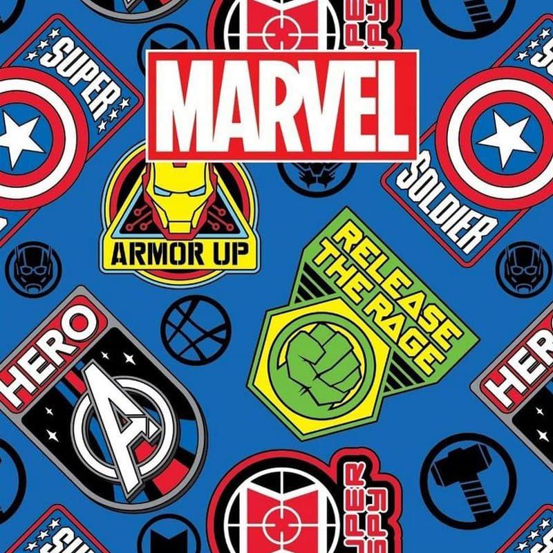 Товары для школы с персонажами Marvel