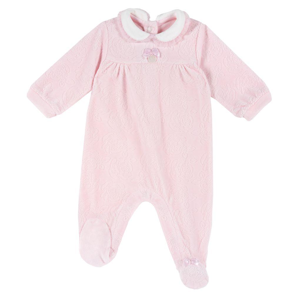 Комбинезон велюровый Chicco Little fairy, арт. 090.21151.011, цвет Розовый