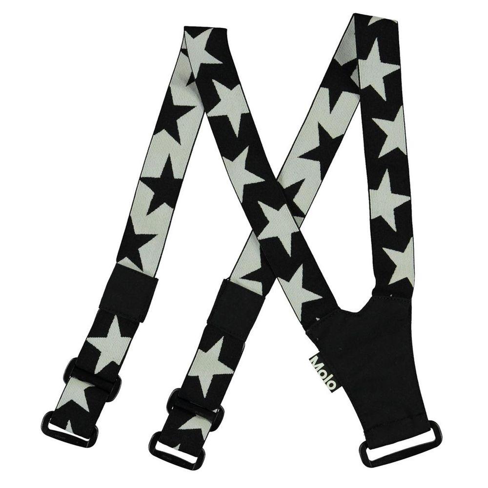 Подтяжки Molo Suspenski Black, арт. 7NOSS701.0099, цвет Черный