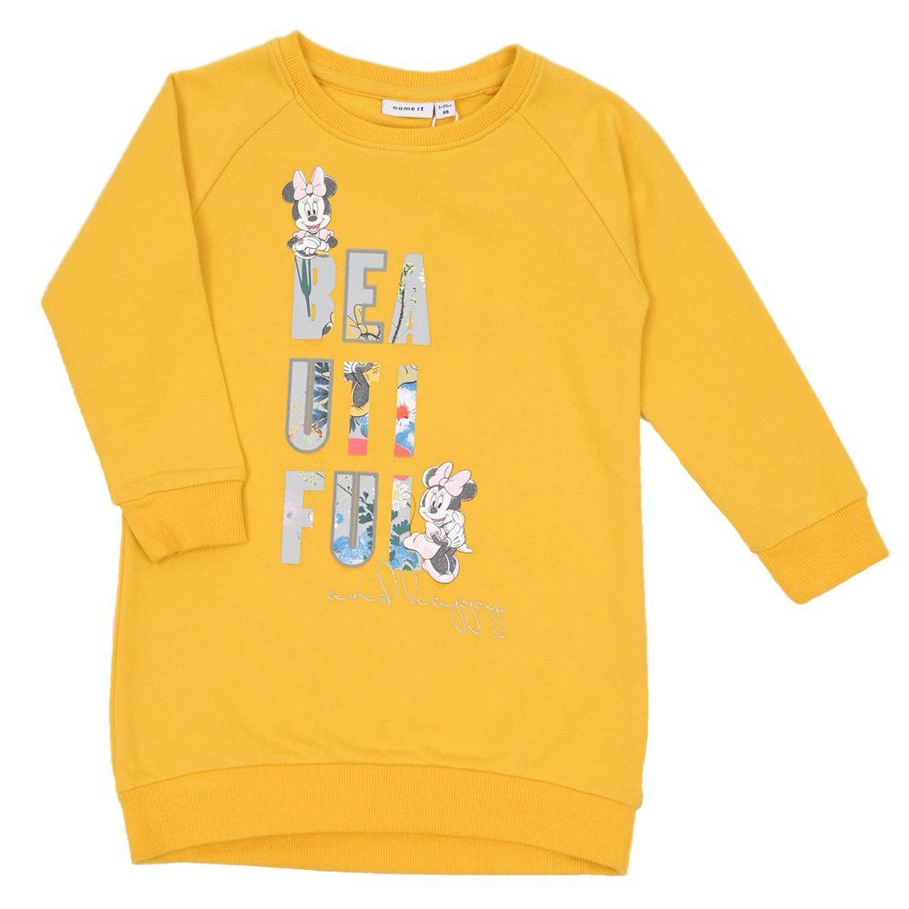 Платье Name it Minnie Mouse (желтое), арт. 203.13179235.SMUS, цвет Оранжевый