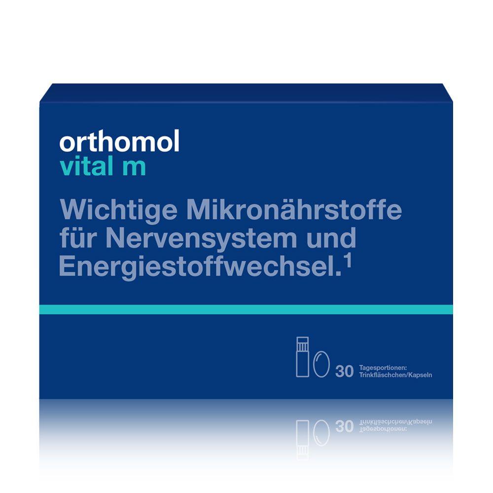 "Витамины для мужчин Orthomol ""Vital M"", 30 дней, питьевой, арт. 1319850"
