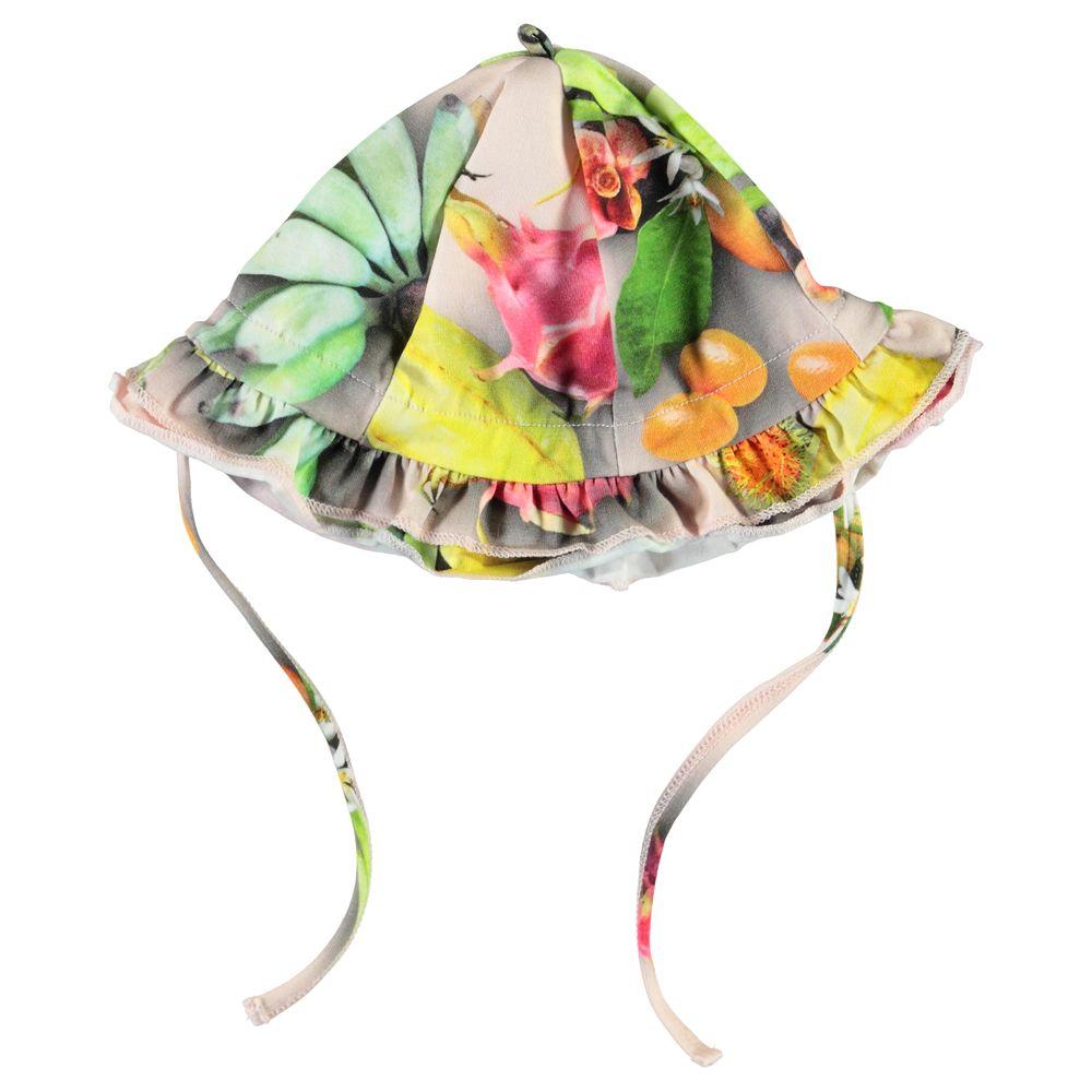 Панамка Molo Nizana Tutti Frutti, арт. 7S20T207.6046, цвет Зеленый с желтым