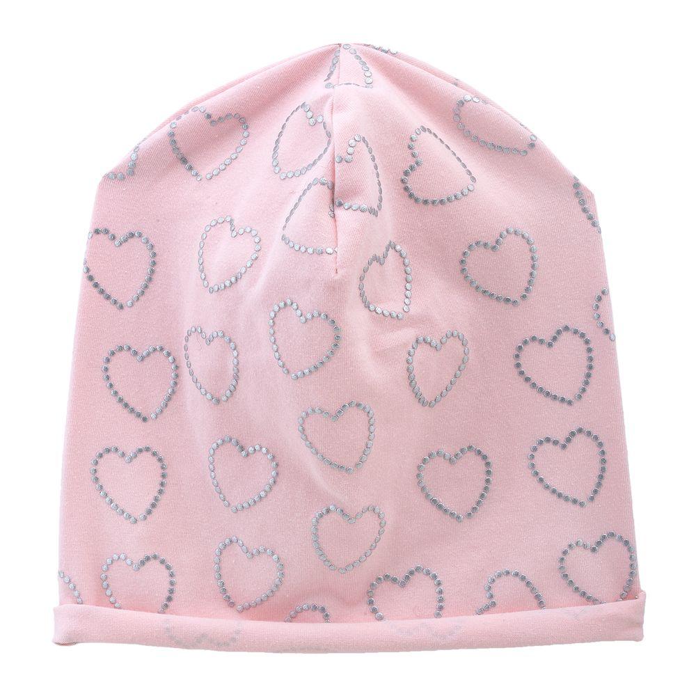 Шапка Chicco Silver heart, арт. 090.04756.011, цвет Розовый