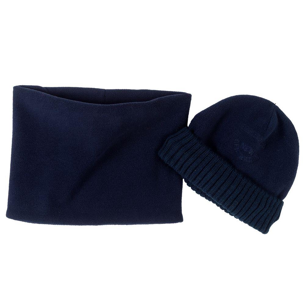 Комплект Chicco Daniel: шапка и шарф-снуд, арт. 090.04587.088, цвет Синий