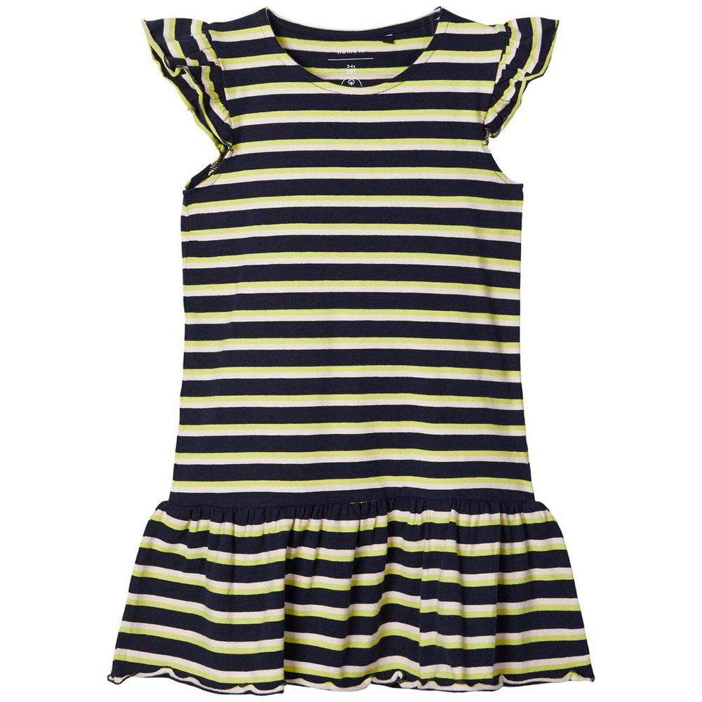 Платье Name it Tropics, арт. 201.13174995.DSAP, цвет Желтый с синим