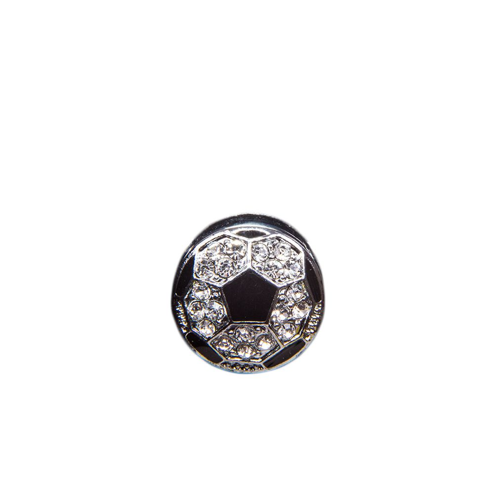 """Эмодзи Tinto """"Football ball"""", арт. AC2273, цвет Черный с серым"""