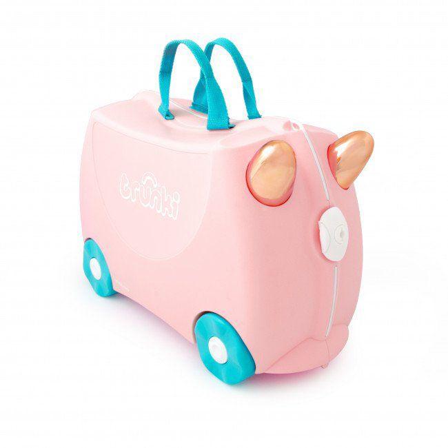 """Детский чемодан Trunki """"Flossi Flamingo"""", арт. 0353-GB01, цвет Розовый"""