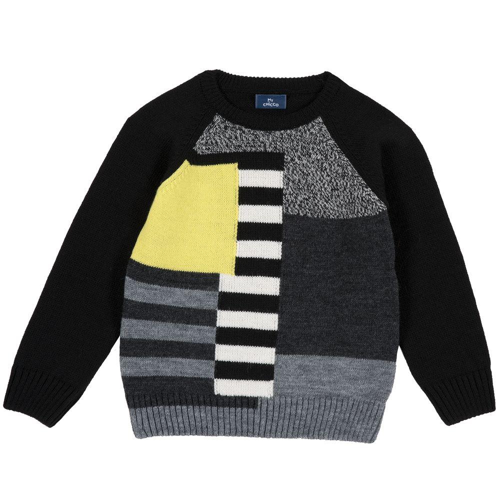 Пуловер Chicco Brave boy, арт. 090.69174.099, цвет Черный