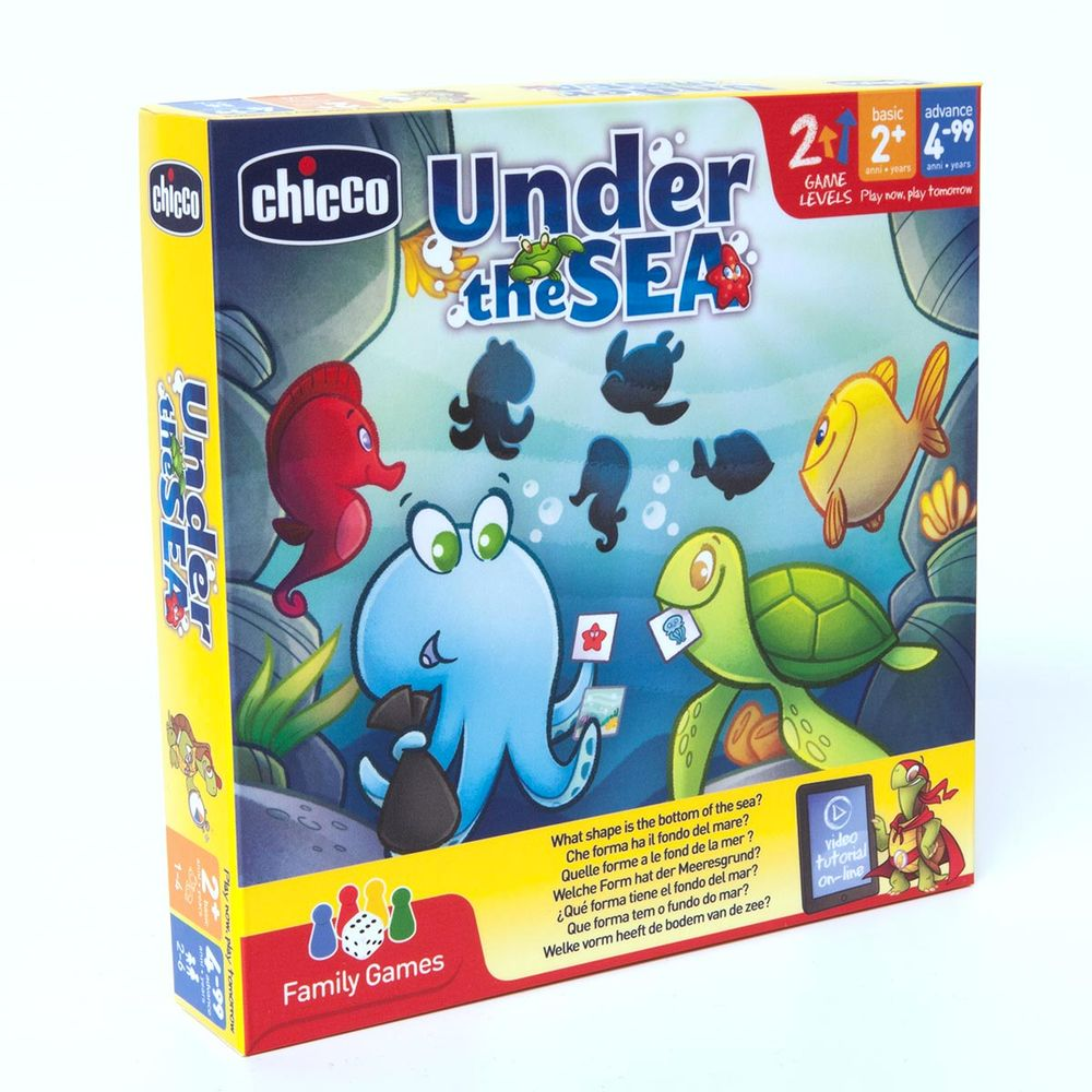 "Настольная игра Chicco ""Under the Sea"", арт. 09164.00"