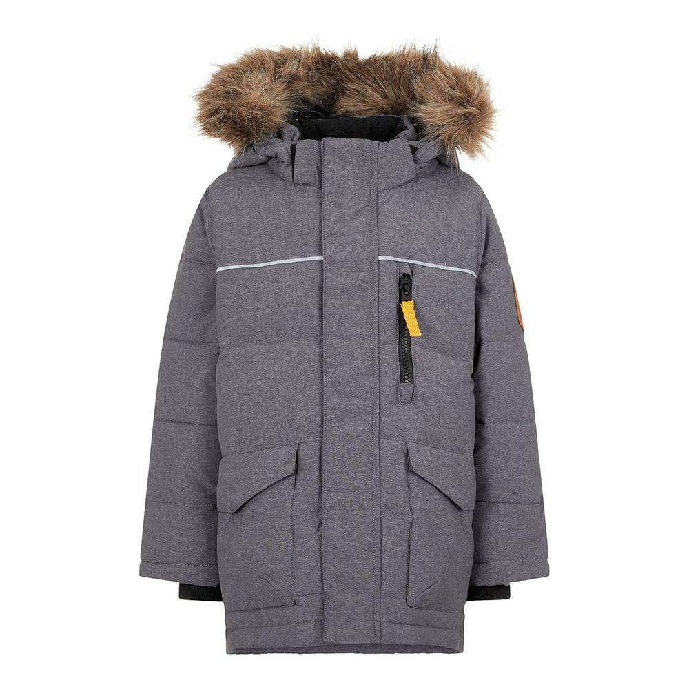 Куртка пуховая Name it Mountain kids, арт. 193.13167495.DGRE, цвет Серый