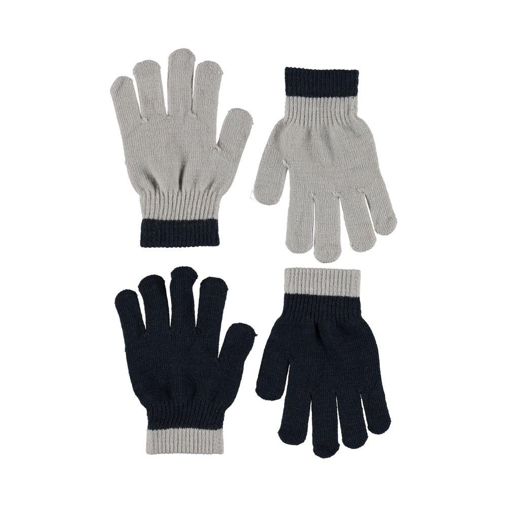 Перчатки Molo Kello Grey melange (2 пары), арт. 7W19S205.1046, цвет Черный с серым