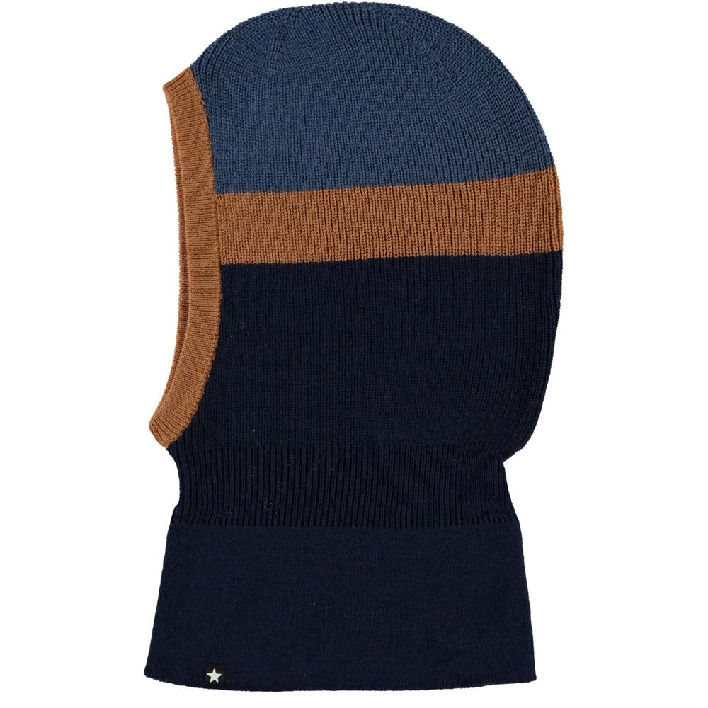 Шапка-балаклава Molo Kallan Ink Blue, арт. 7W20S402.8216, цвет Синий
