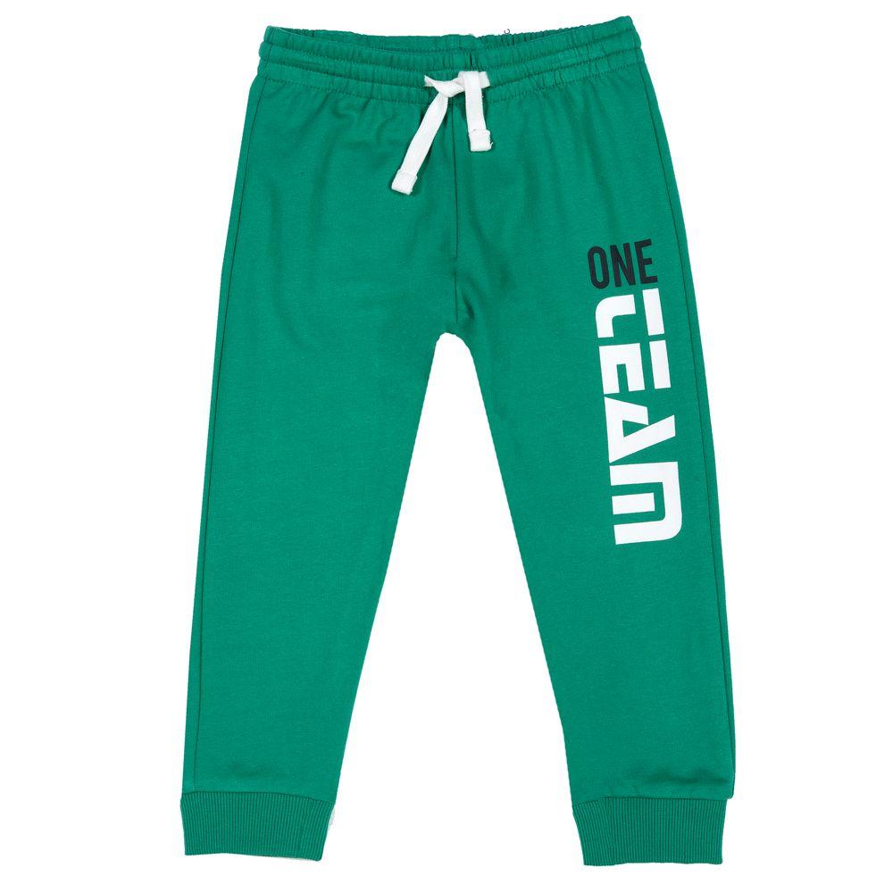 Брюки спортивные Chicco One team, арт. 090.08300.055, цвет Зеленый