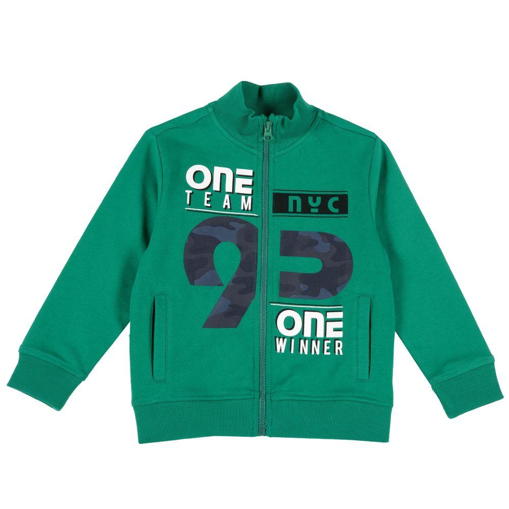 Кардиган Chicco One team, арт. 090.09532.055, цвет Зеленый