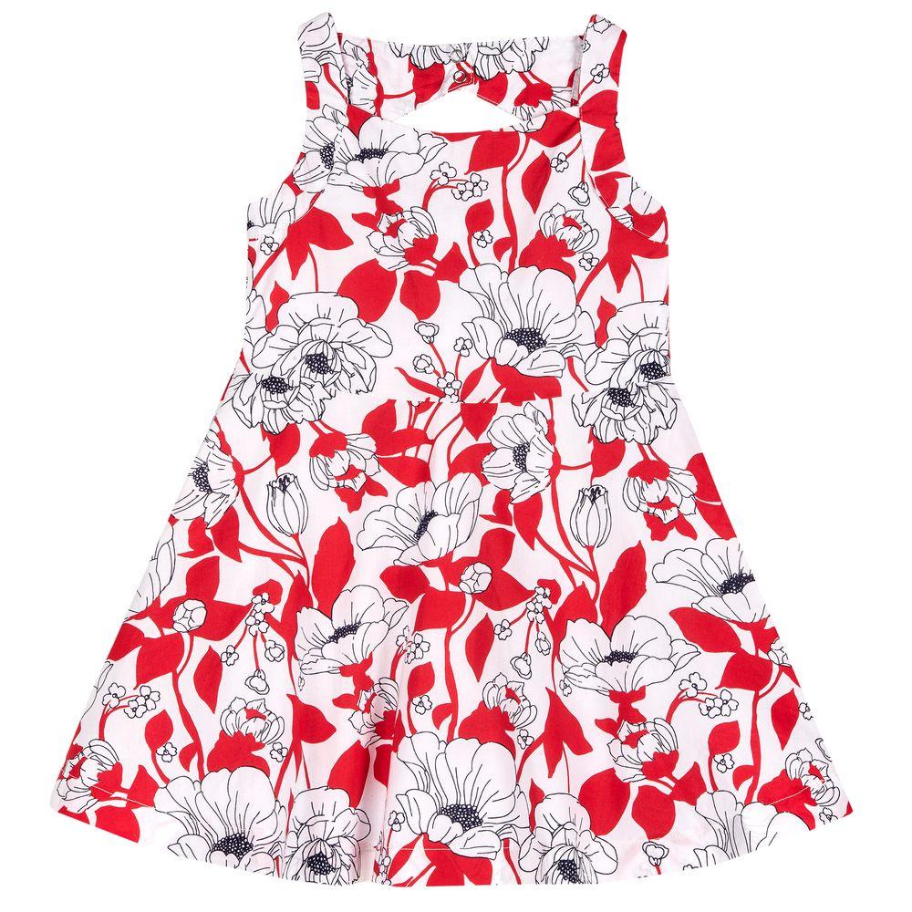 Платье Chicco Fantastic flowers, арт. 090.03684.037, цвет Красный