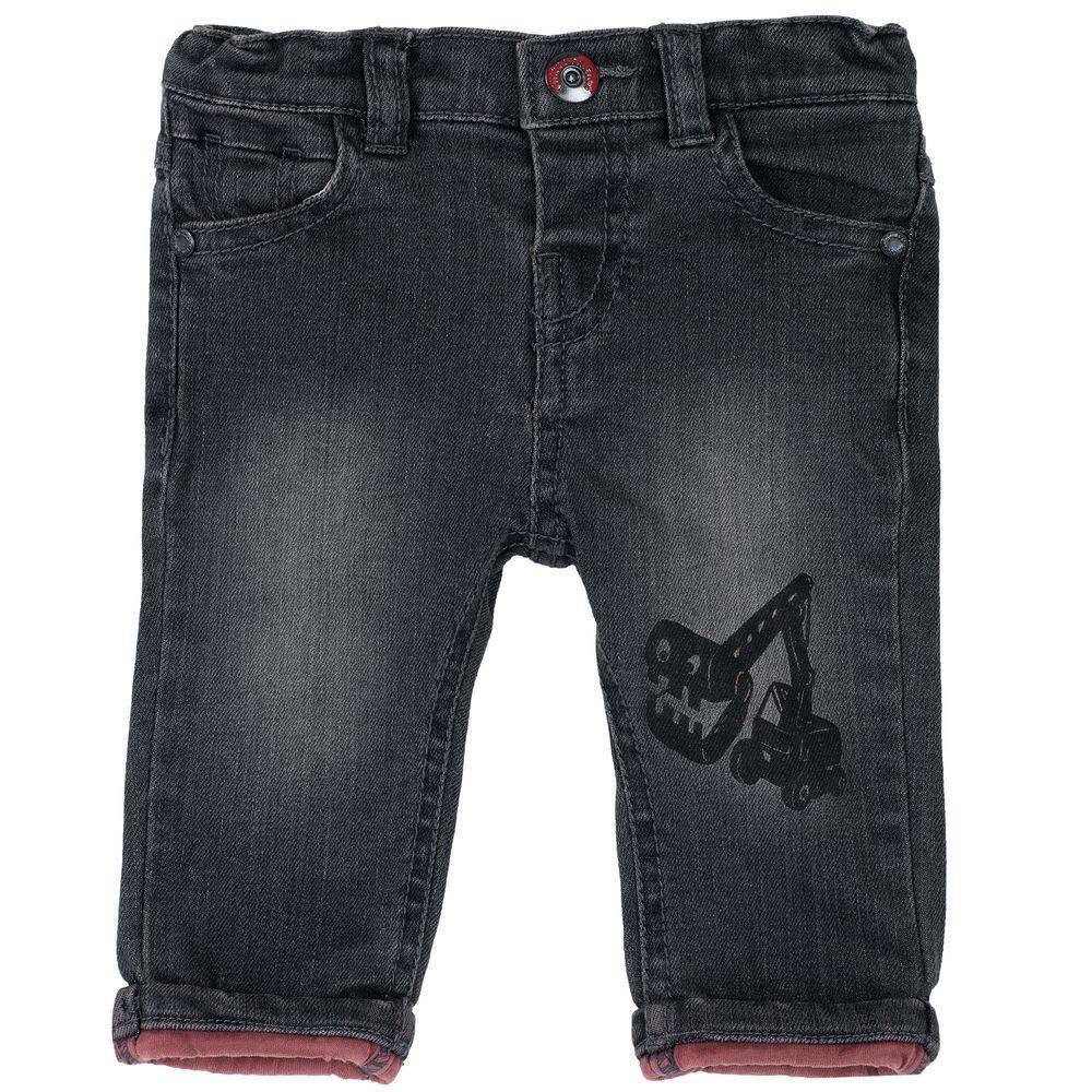 Брюки джинсовые Chicco Work, арт. 090.08005.098, цвет Серый