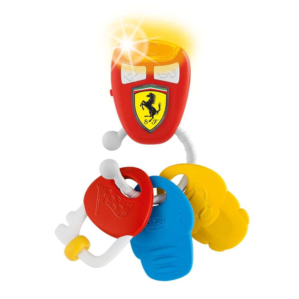 "Игрушка музыкальная Chicco ""Ключи Ferrari"", арт. 09564.00"