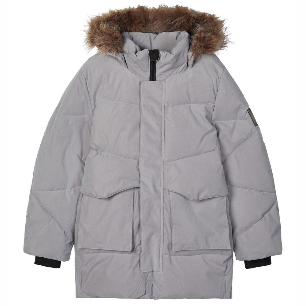 Куртка Name it Torolf, арт. 203.13182206.FGRA, цвет Серый