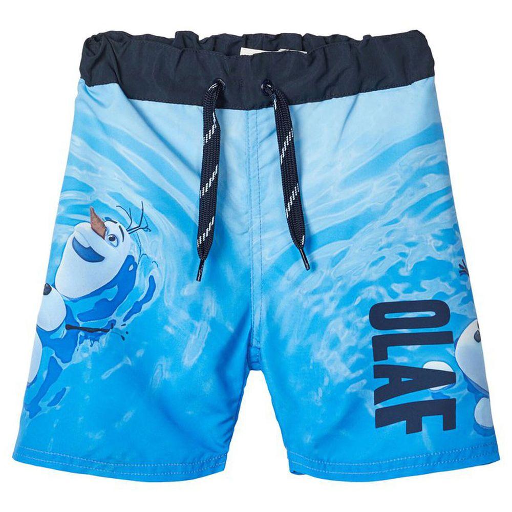 Шорты Name it Frozen Olaf, арт. 201.13176953.DSAP, цвет Голубой