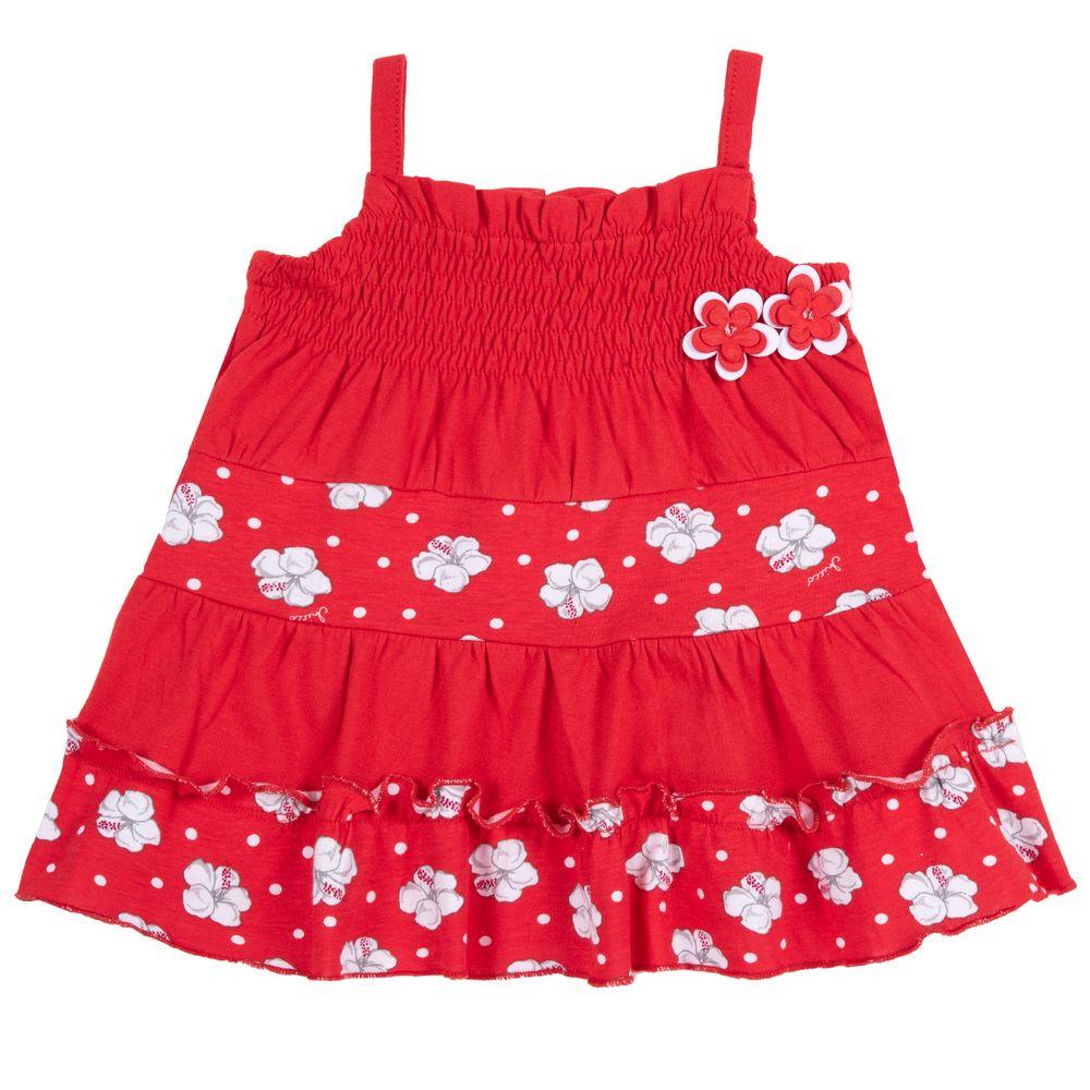 Платье Chicco Miss spiaggia, арт. 090.03593.071, цвет Красный