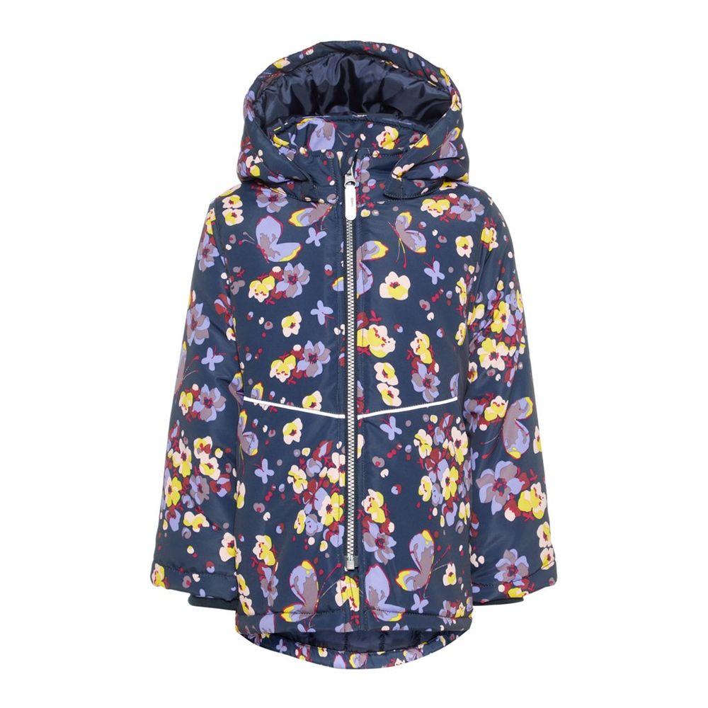 Куртка Name it Flowers, арт. 193.13168566.DSAP, цвет Синий
