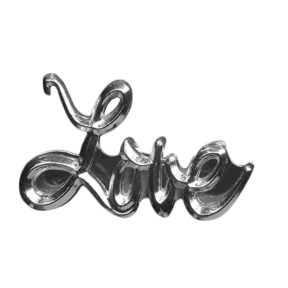"Эмодзи Tinto ""Silver Love"", арт. AC2377, цвет Серебряный"