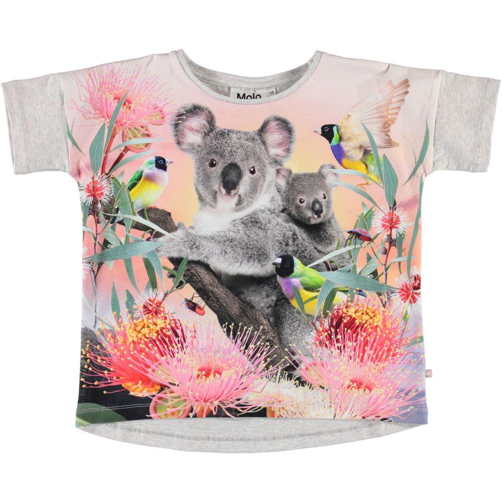 Футболка Molo Raeesa Koala Love, арт. 2S20A215.7137, цвет Серый