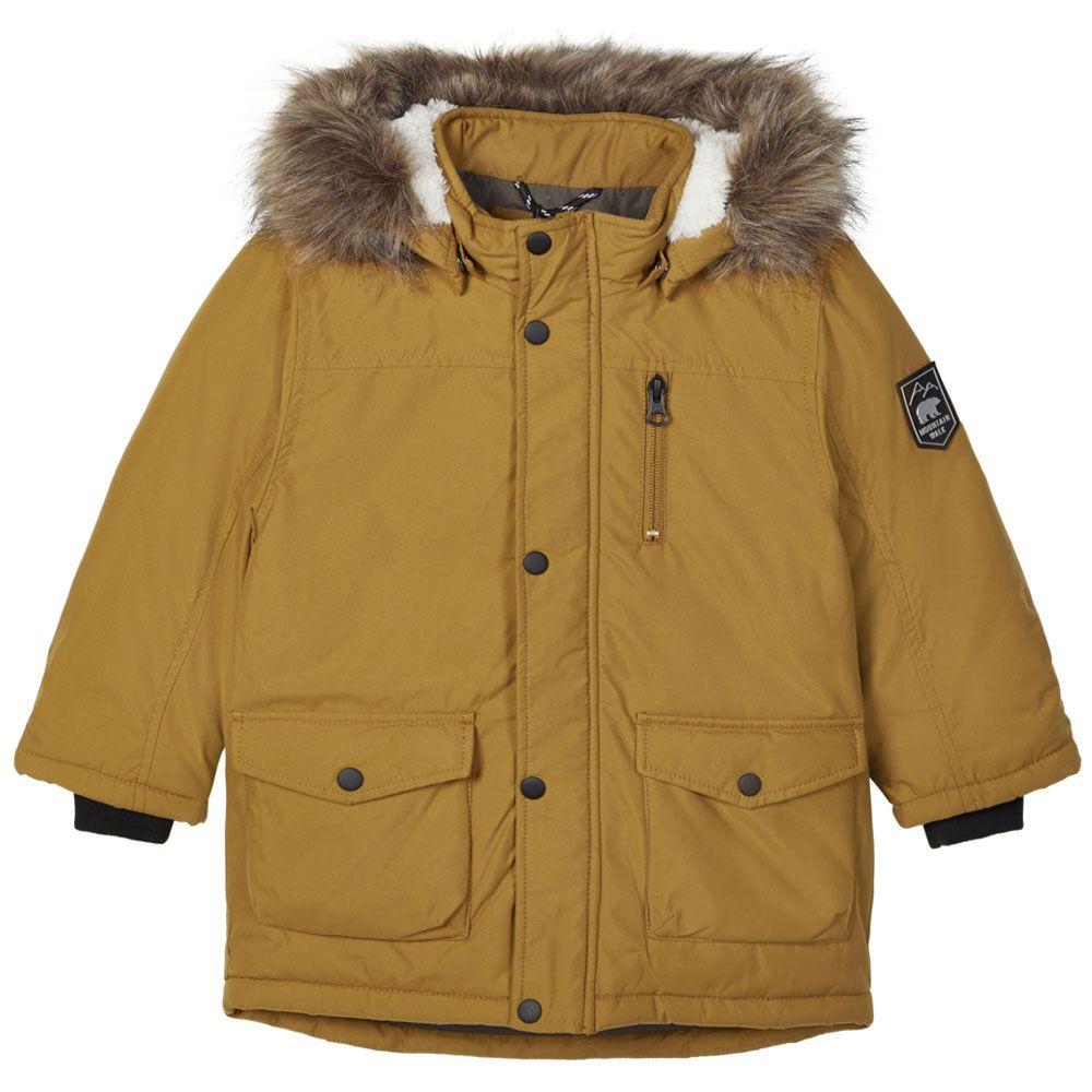 Куртка-парка Name it Odvar, арт. 203.13178867.GBRO, цвет Оранжевый