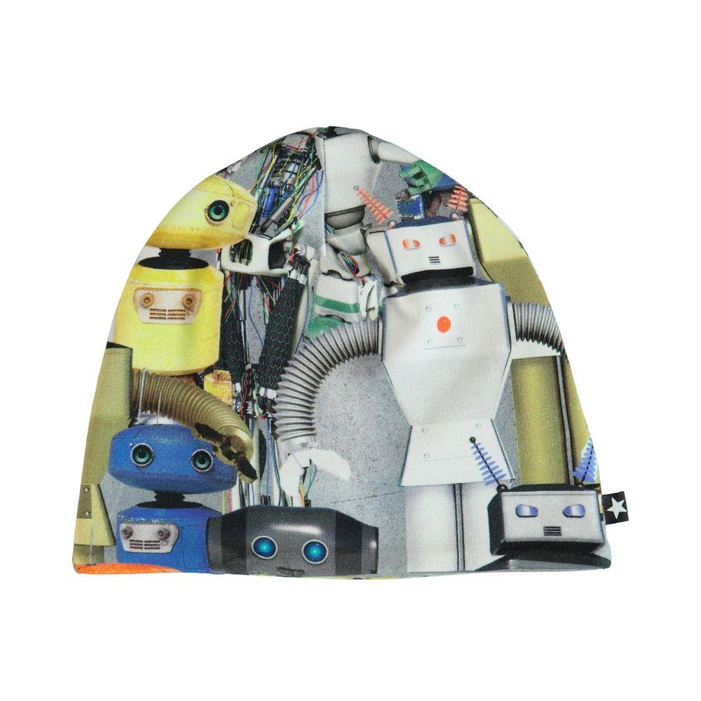 Шапка Molo Ned Robots, арт. 7S19T208.4801, цвет Серый
