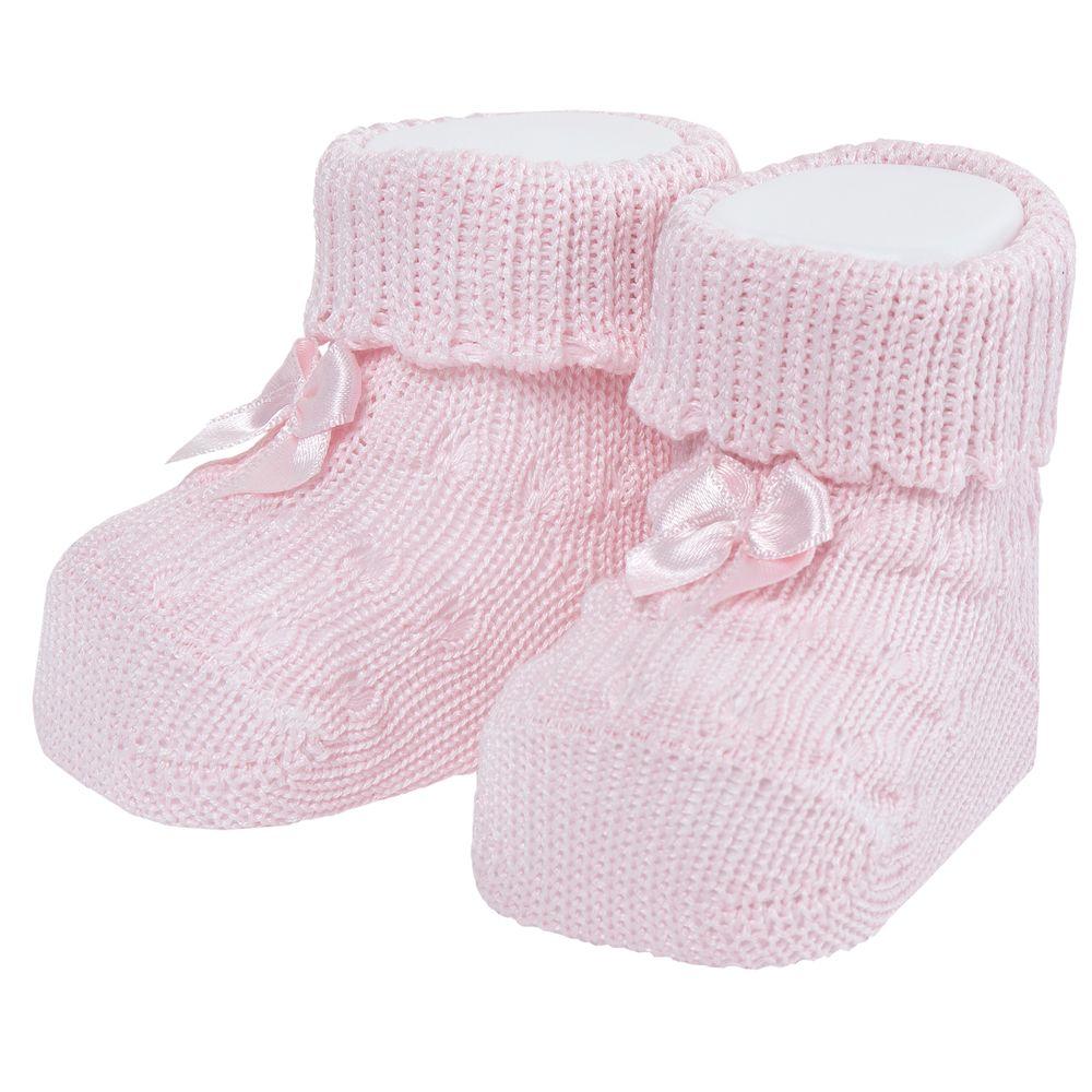 Носки-пинетки Chicco Pink bows, арт. 090.01317.011, цвет Розовый