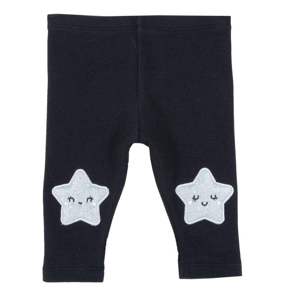 Леггинсы Chicco Shiny star, арт. 090.25704.098, цвет Черный