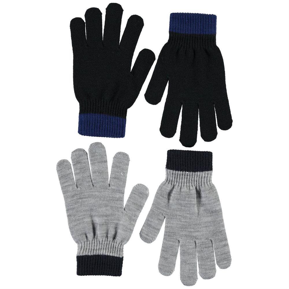 Перчатки Molo Kello Grey (2 пары), арт. 7W20S203.1046, цвет Синий