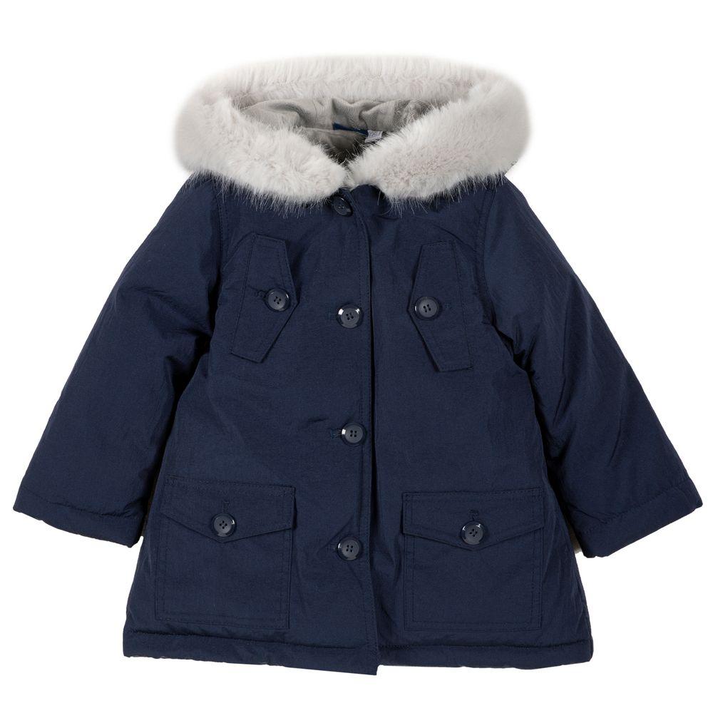 Куртка пуховая Chicco Alberta, арт. 090.87438.088, цвет Синий