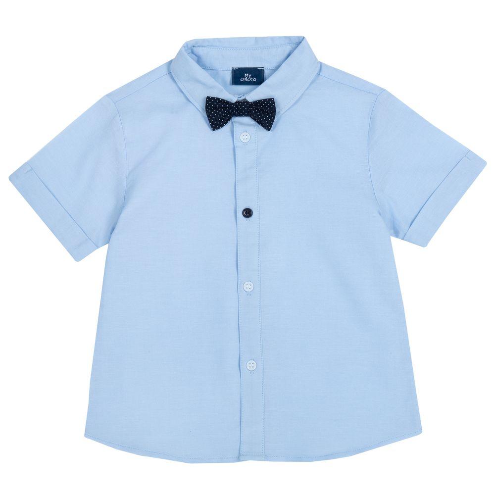 Рубашка Chicco Freedom style, арт. 090.66547.021, цвет Голубой