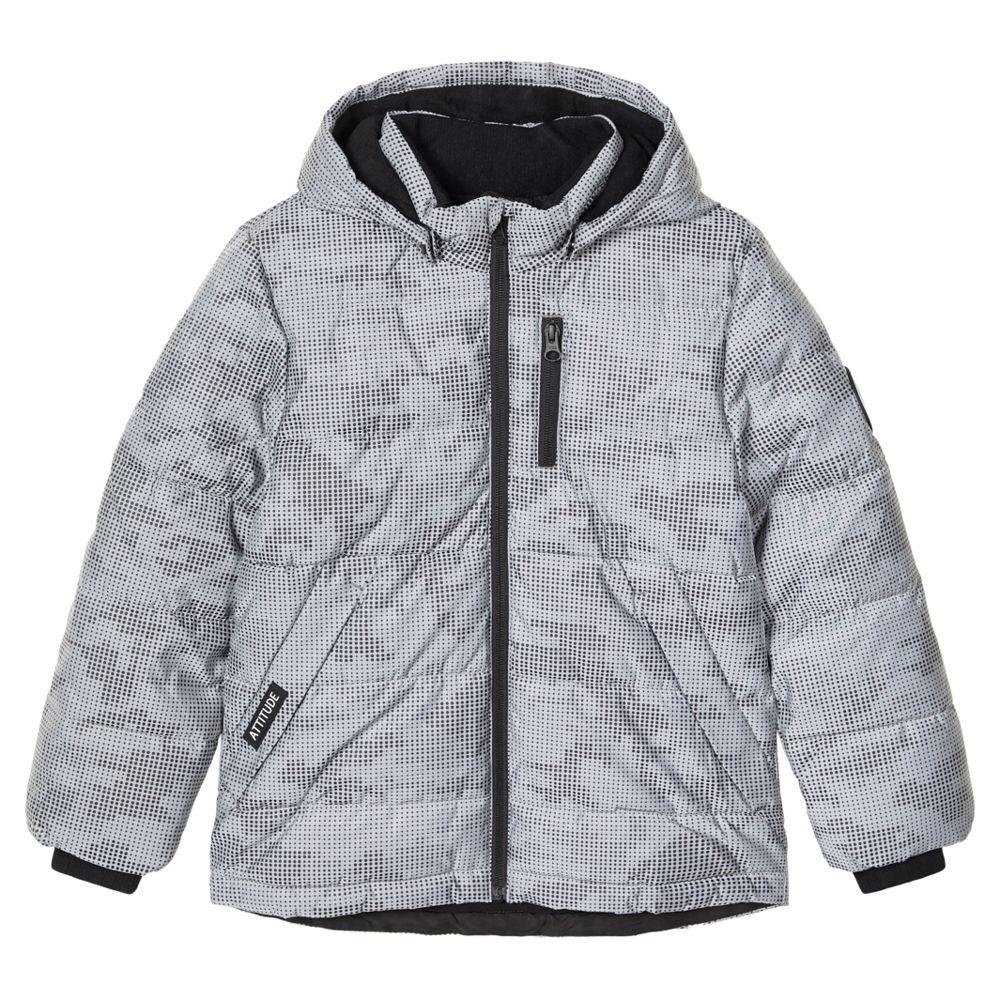 Куртка Name it Bird, арт. 203.13184017.FGRA, цвет Серый