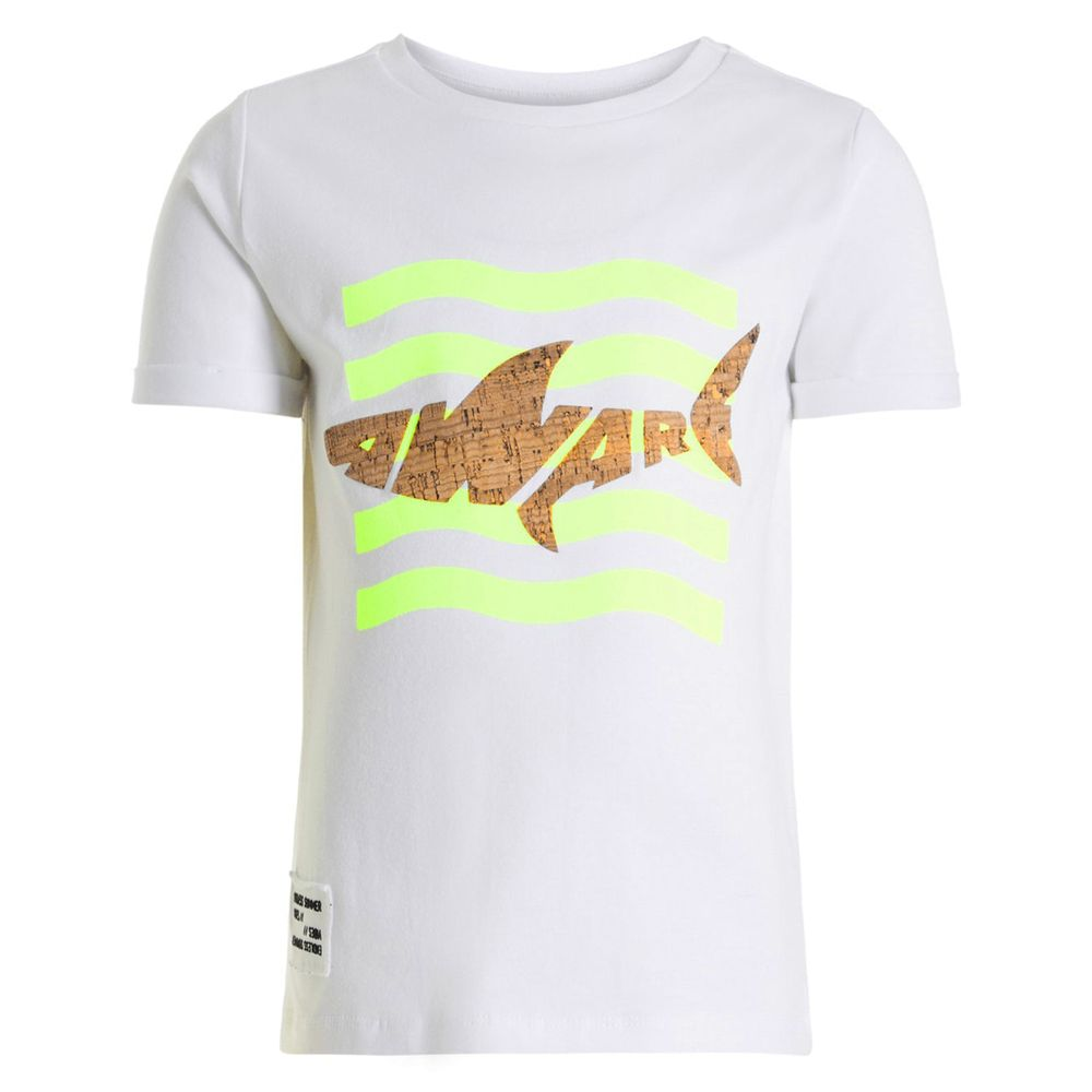Футболка Name it Shark, арт. 201.13175233.BWHI, цвет Белый