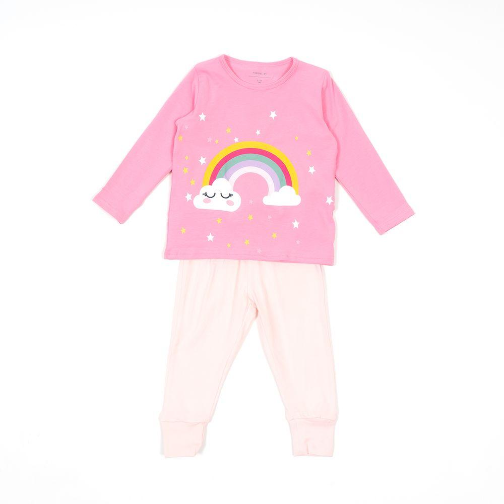 Пижама Name it Rainbow, арт. 193.13168325.PPIN, цвет Розовый