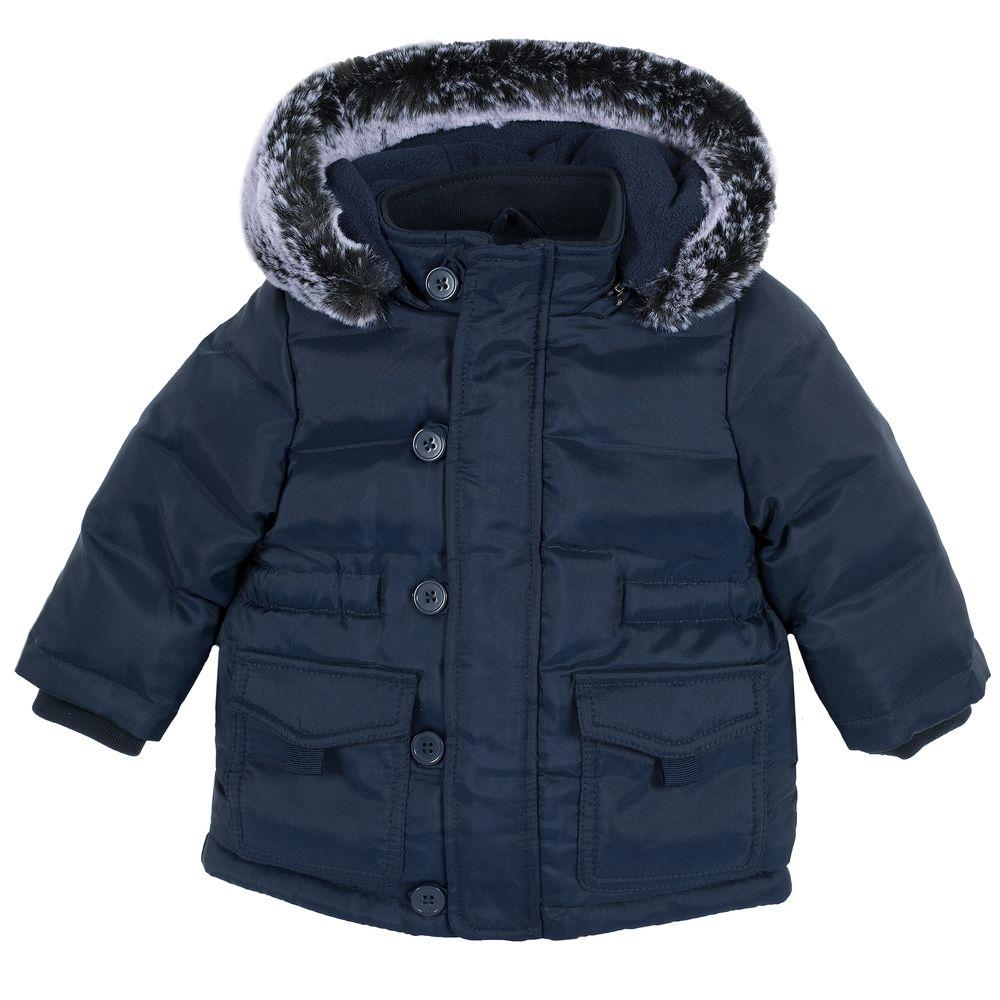 Куртка пуховая Chicco Oxford club, арт. 090.87417.088, цвет Синий