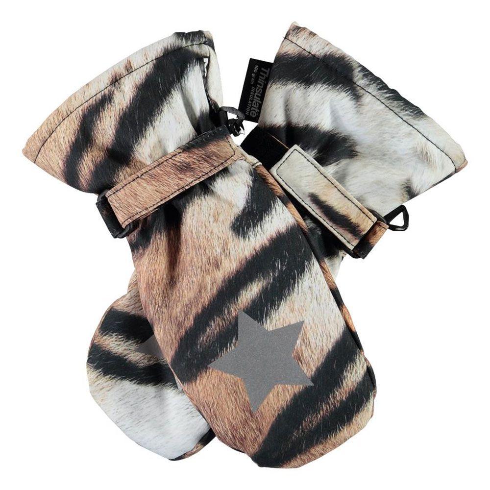 Термоварежки Molo Mitzy Wild Tiger, арт. 7W20S105.6130, цвет Бежевый