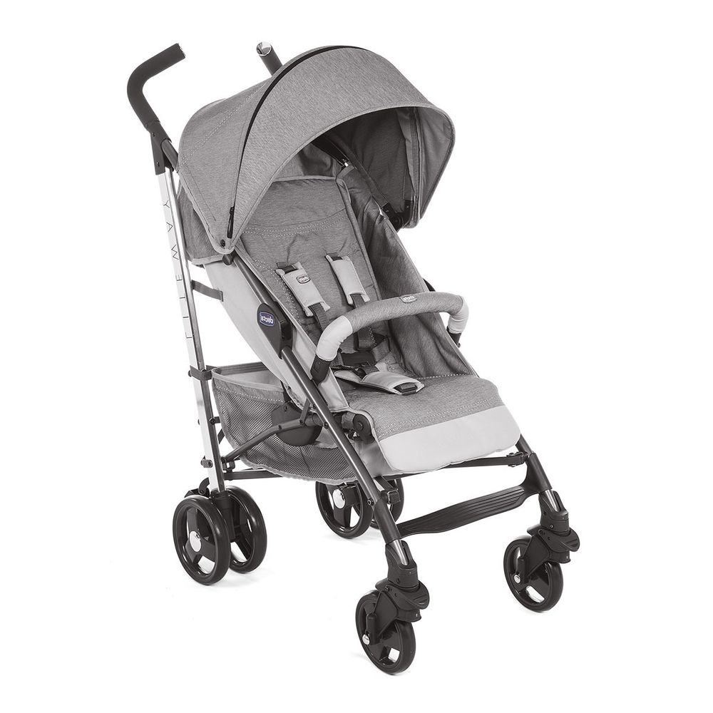 Прогулочная коляска Chicco Lite Way 3 Top Titanium, арт. 79599.84, цвет Серый
