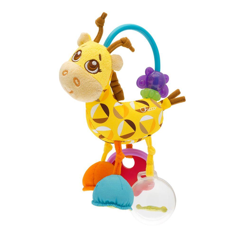 """Игрушка-погремушка Chicco """"Mrs. Жирафа"""", арт. 07157"""