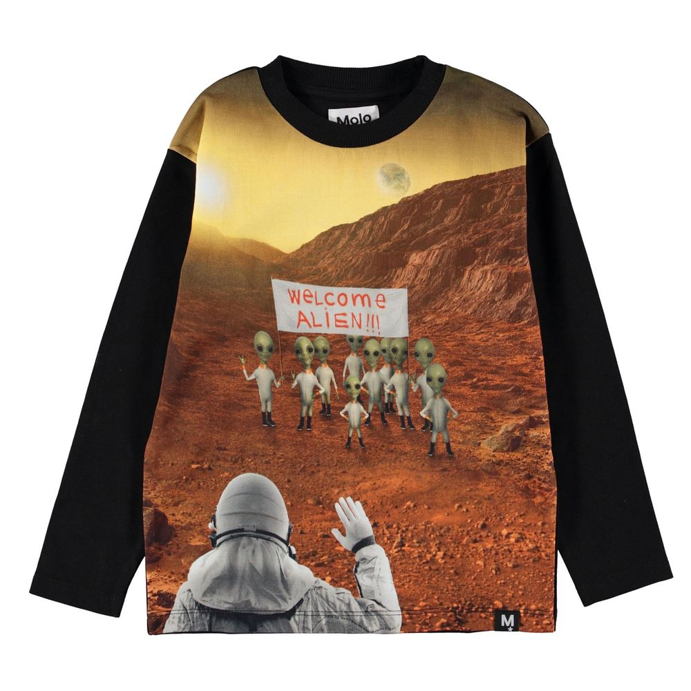 Реглан Molo Mountoo Mars Scenery, арт. 1W19J223.7048, цвет Черный