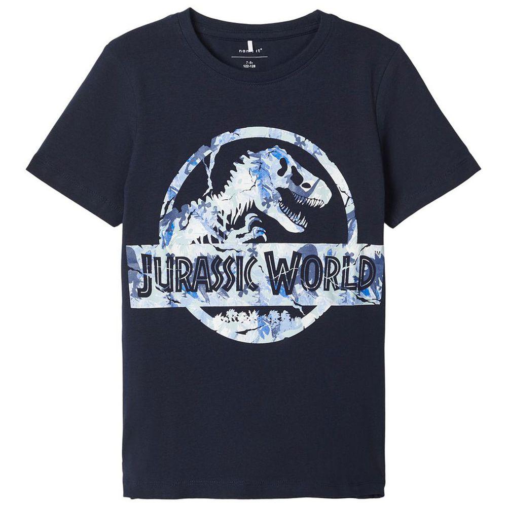 Футболка Name it Jurassic world (синяя), арт. 201.13174821.DSAP, цвет Синий