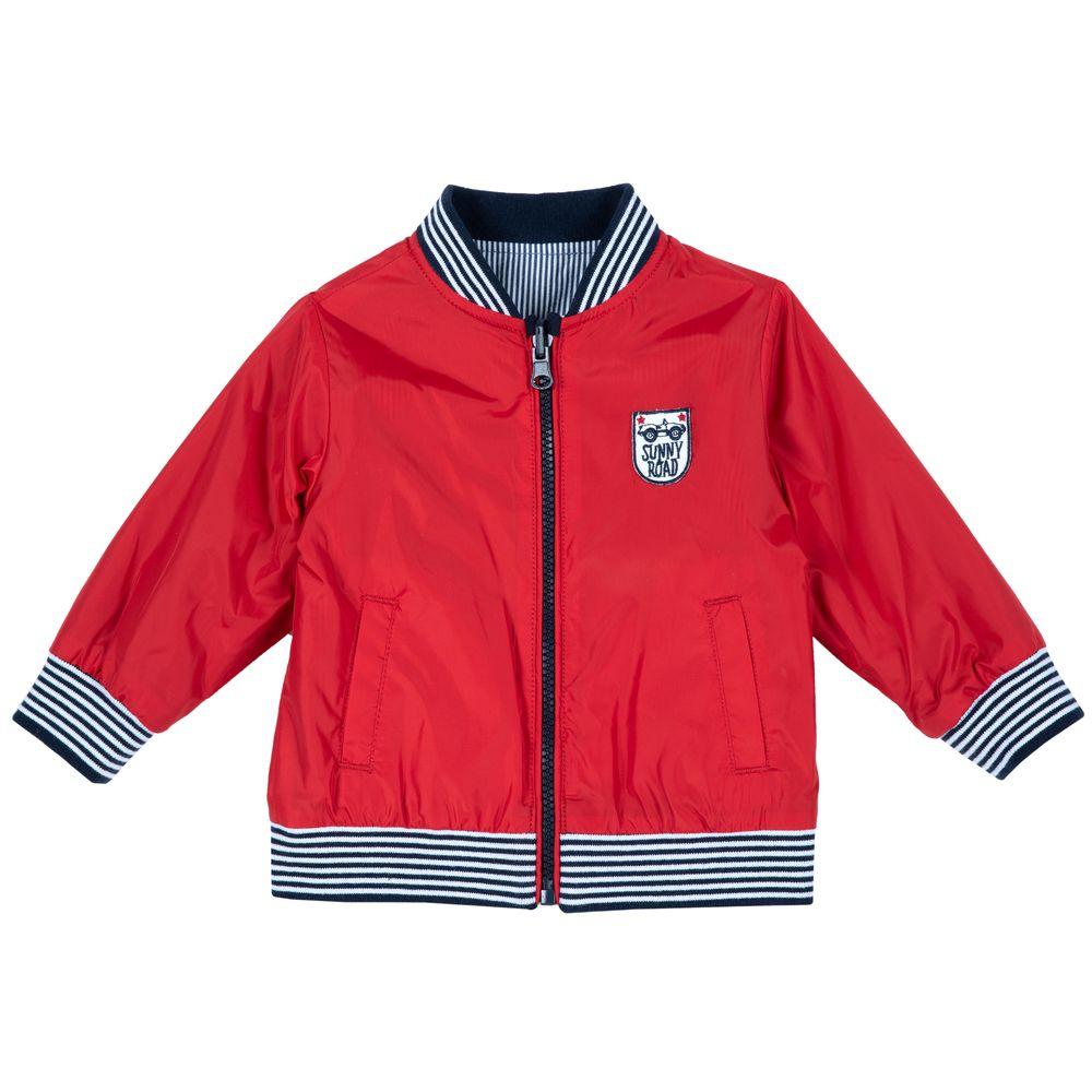 Куртка двухсторонняя Chicco Sunny road, арт. 090.87467.075, цвет Красный