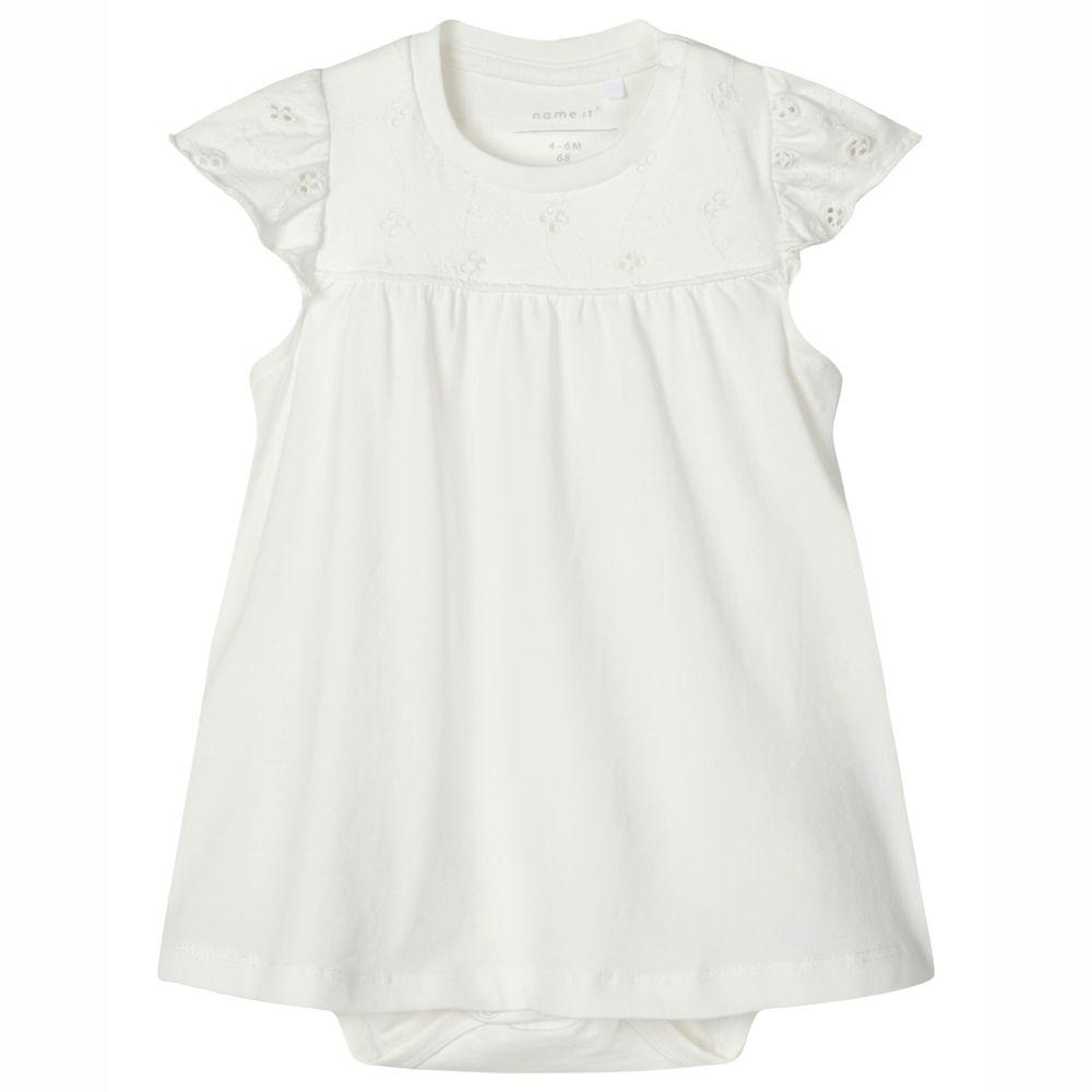Платье-боди Name it Ildri, арт. 203.13176417.SWHI, цвет Белый