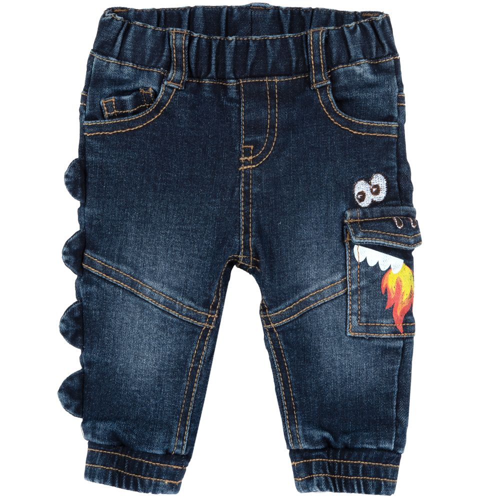 Брюки джинсовые Chicco Dragon, арт. 090.08288.088, цвет Синий
