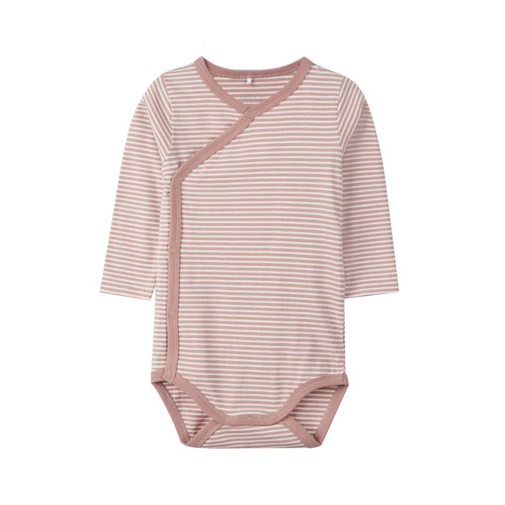 Боди Name it Pink strip, арт. 193.13167524.WOOD, цвет Розовый
