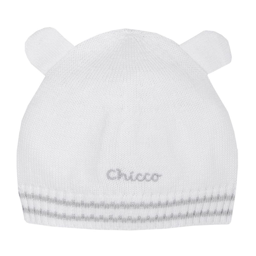 Шапка Chicco Cute bear, арт. 090.04708.033, цвет Белый